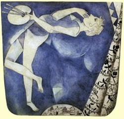Chagall's 'The Painter: To the Moon'