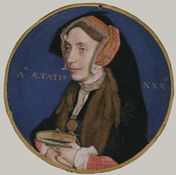 Miniature by Hans Holbein