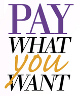 Pay What You Want graphic