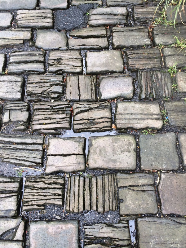 Photo of cobblestones © Cherry Jeffs 2014