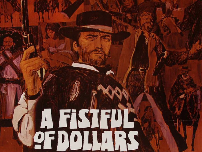 poster from A Fistful of Dollars