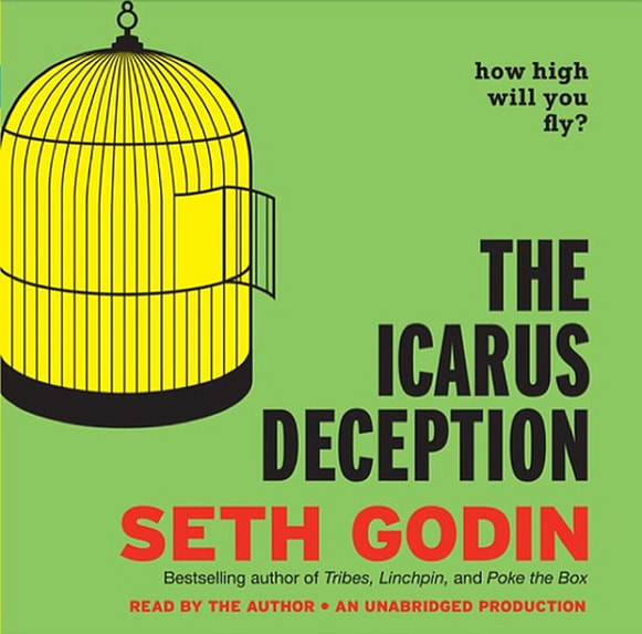The Icarus Deception by Seth Godin - audiobook cover